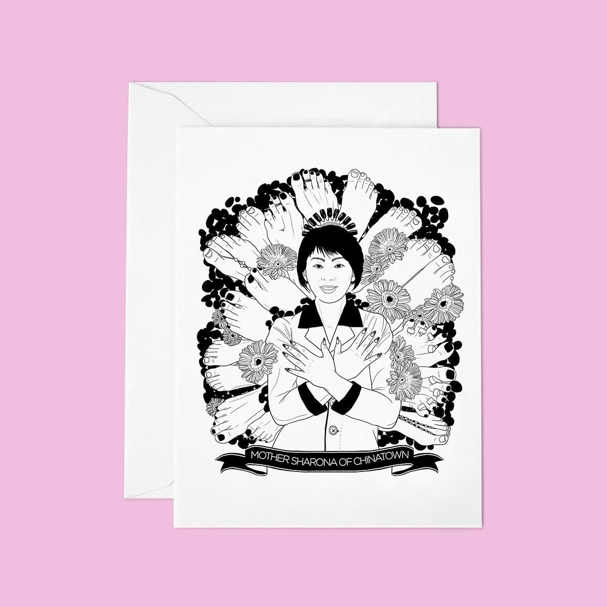 TUTTISANTI | Mother Sharona of Chinatown