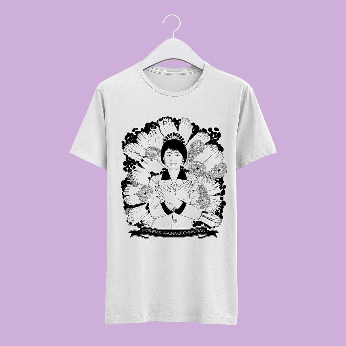 Mother Sharona of Chinatown | t-shirt   TUTTISANTI