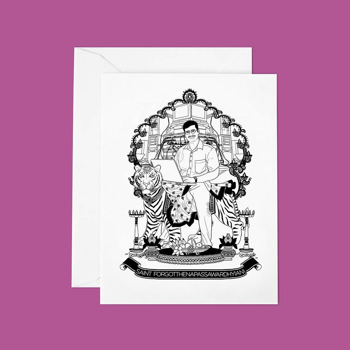 TUTTISANTI | Saint Forgotthenapasswardhyiani