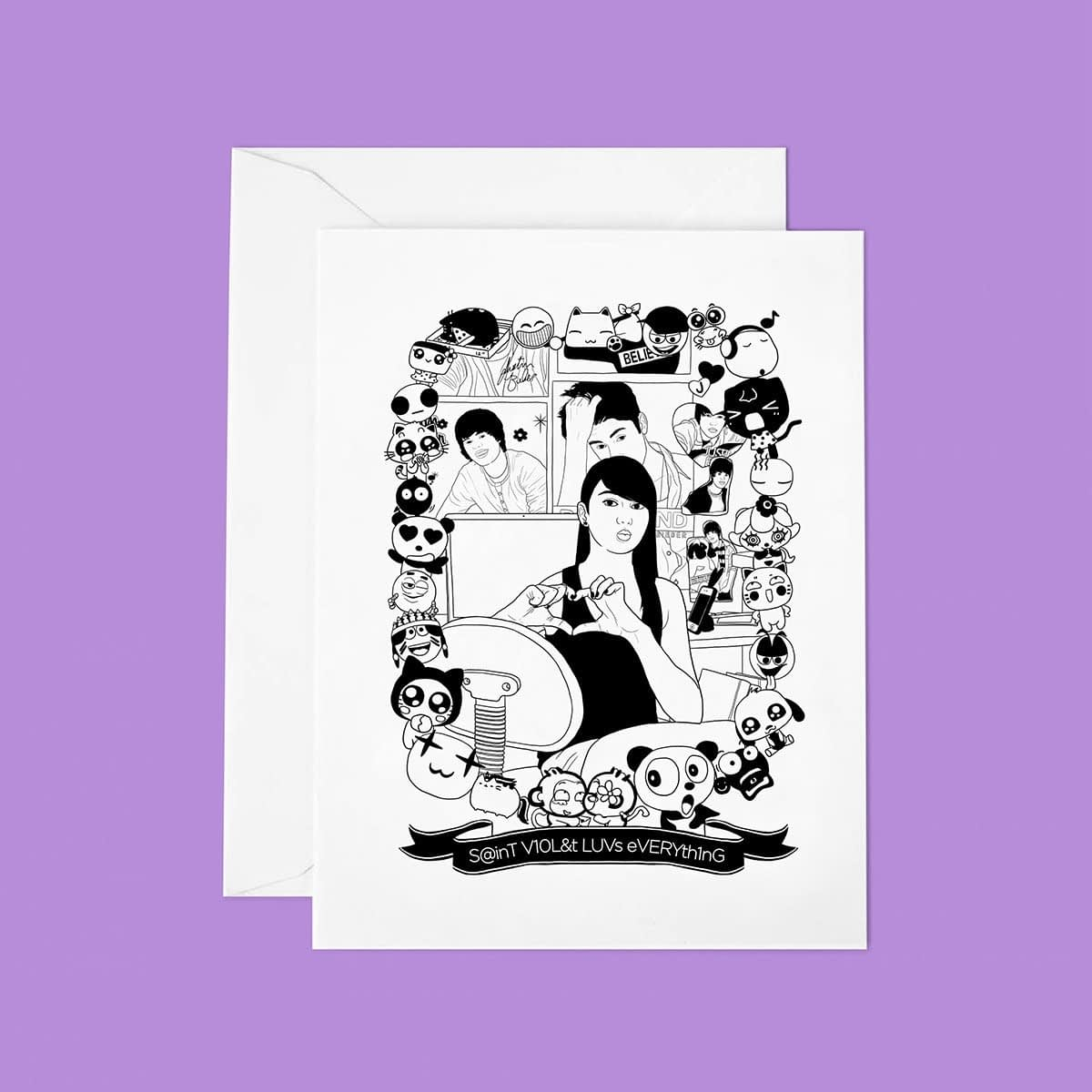 TUTTISANTI | Saint Violet LUVs everything
